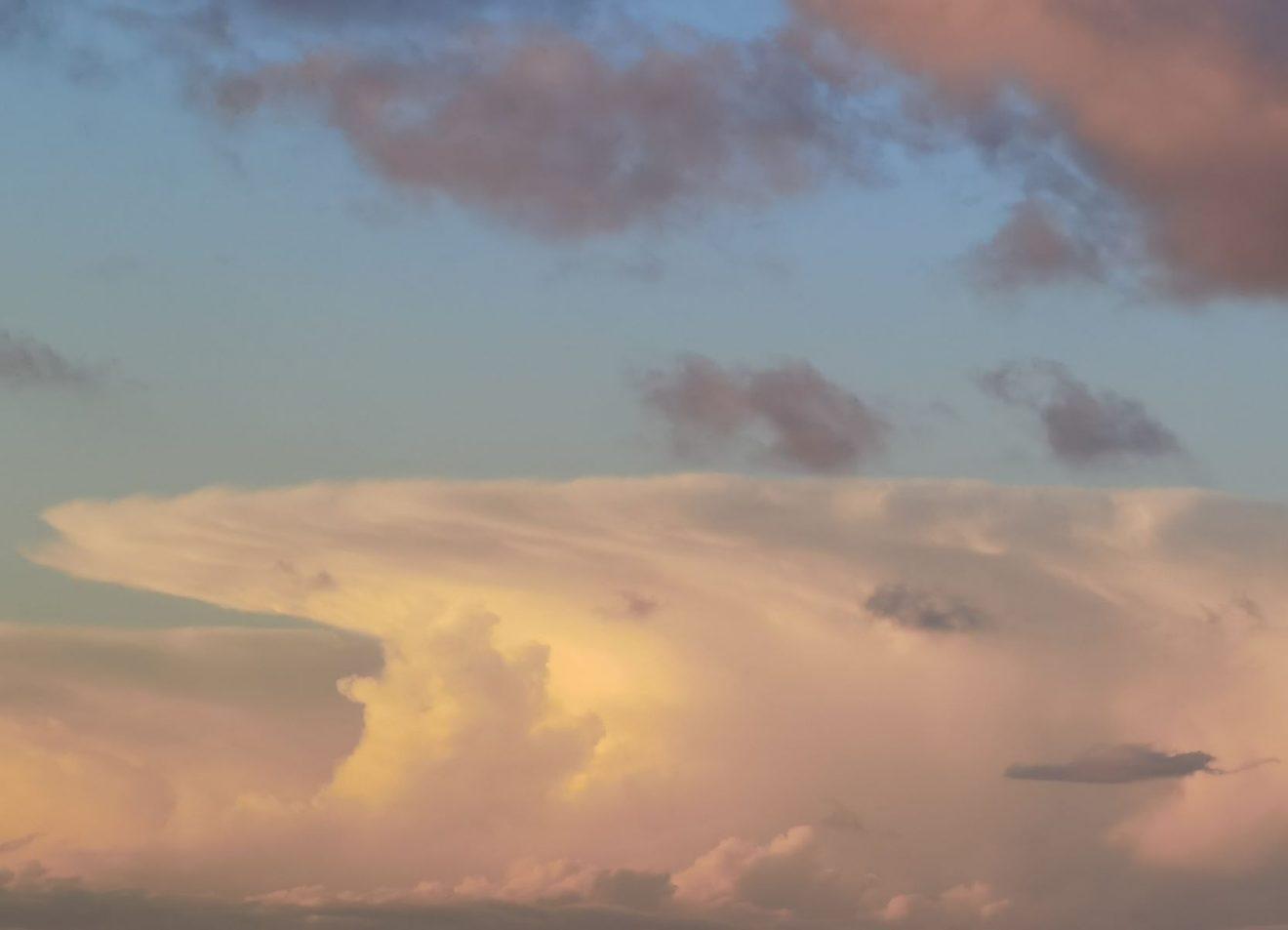 Wolken fotografieren.