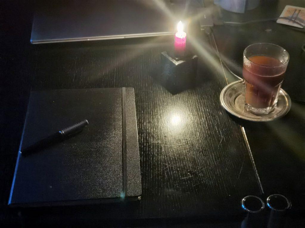 Juli 2021 Morgenseiten und Kaffee
