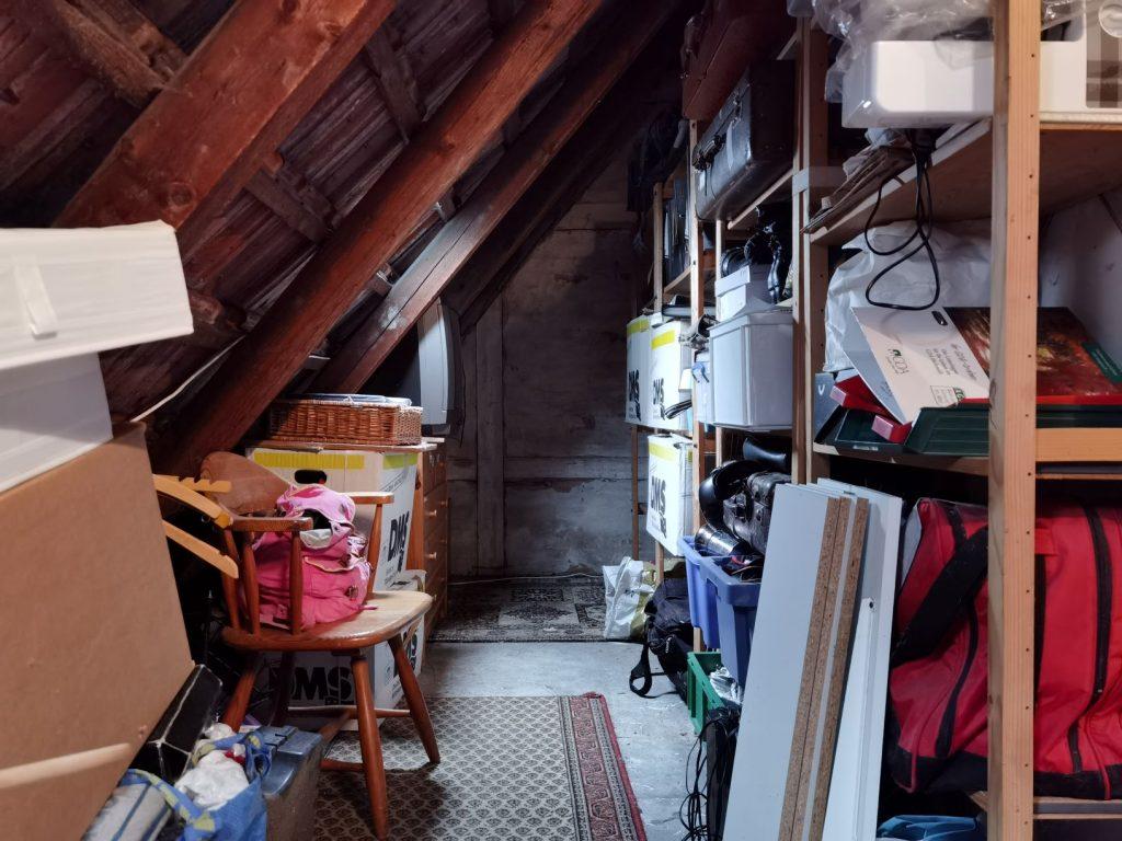 Aufraeumen Dachboden