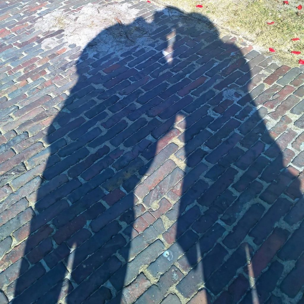 Tim und ich Schatten